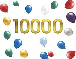 10,000 Hits in 3 months!!!