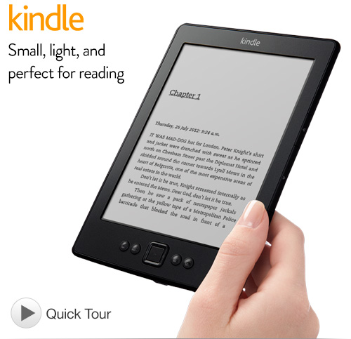 Image from amazon.com where this kindle is on sale for £69.