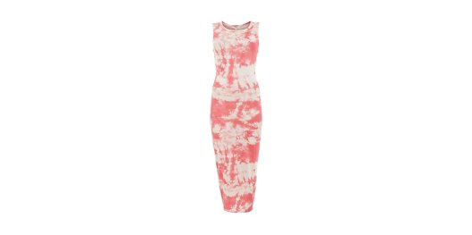 Orange Tie Dye Sleeveless Midi Dress from New Look for £14.99
