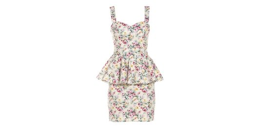 Paprika Floral Peplum Dress from New Look for £10.50