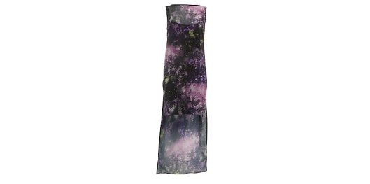 Purple Cosmic Print Step Hem Dress from New Look for £10