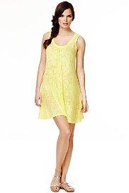 Scoop Neck Floral Burnout Vest Dress from Marks&Spencer for £15