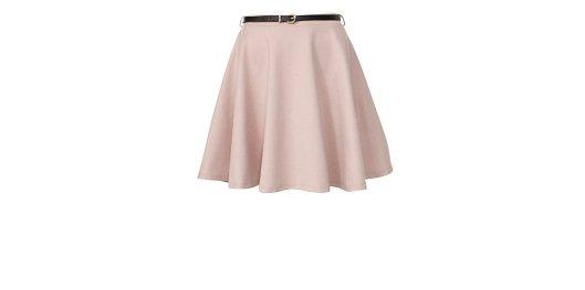 Stone Belted Skater Skirt New Look £8