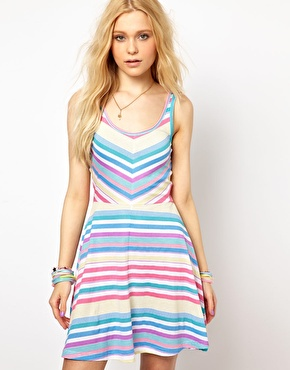 Vero Moda Stripe mini dress £14 ASOS