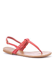 Coral Woven Strap Sandals from NewLook £7.99