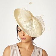 Debut Cream Lace Saucer Headband from Debenhams for £30.00