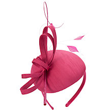 Fuchsia Linda Pillbox Hat by John Lewis for £35.00