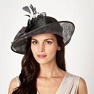 Hatbox Dark Grey Floral Hat from Debenhams for £40.00