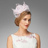 Phase Eight Dusty Pink Organza Rose Fascinator from Debenhams for £17.50