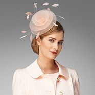 Phase Eight Shell Pink Hayden Fascinator from Debenhams for £27.50