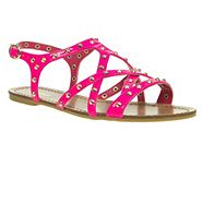 Pink Studded Gladiator Sandals from Debenhams for £15.00