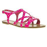 Pink Studded Gladiator Sandals from Debenhams for £15.00