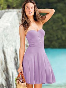 Push-up Dress, Lilac, Victoria's Secret, under $30, gift idea